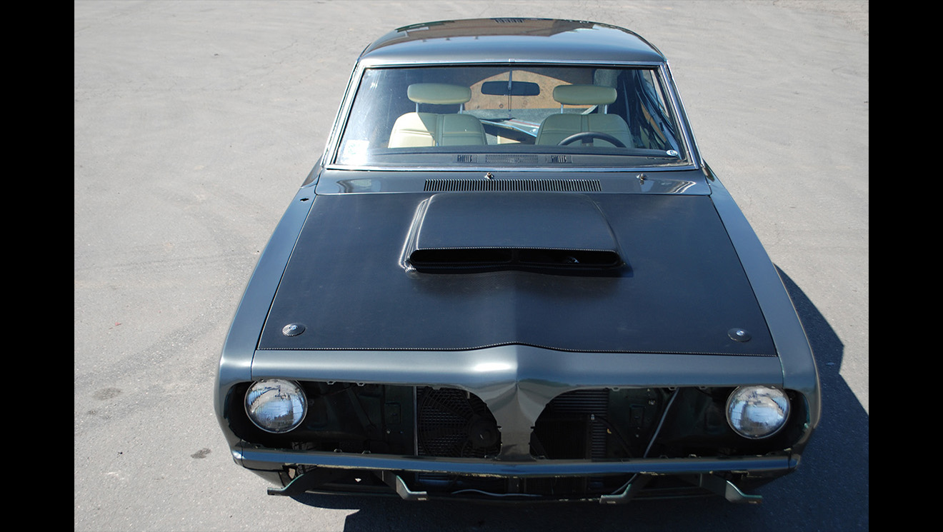1969 Plymouth Barracuda Dark Grey